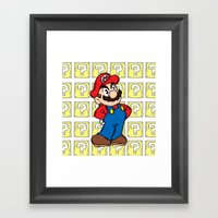 It's A Me Framed Art Print