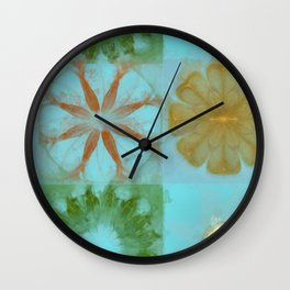 Escapeway Pipe Dream Flower  ID:16165-052313-72470 Wall Clock