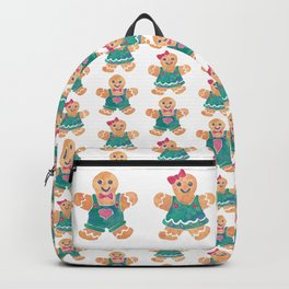 Gingerbread Boy and Girl Backpack