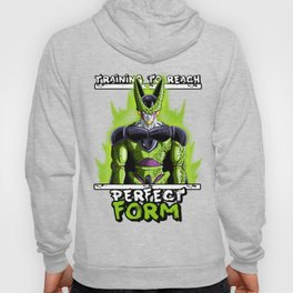 Training to reach pefect form - Cell Hoody