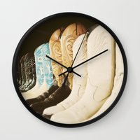 texas Wall Clocks featuring Texas by Teal Thomsen Photography