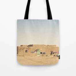 Moroccan Dar in Orange Tote Bag