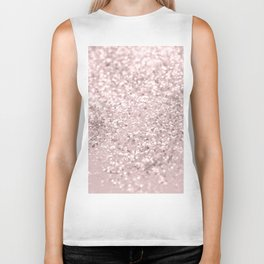 Blush Glitter Dream #1 #shiny #decor #art #society6 Biker Tank