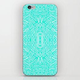 Radiate (Mint) iPhone Skin