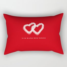 French love message Rectangular Pillow