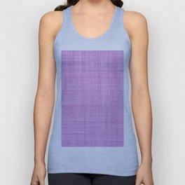 Modern abstract geometric lilac brushstrokes pattern Unisex Tank Top