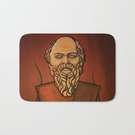 Beardo art Bath Mat