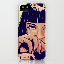 Mia Wallace iPhone Case