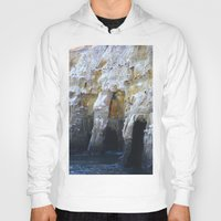 san diego Hoodies featuring Cliffs of San Diego by Tdrisk46