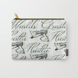 Worlds Greatest Hustla Carry-All Pouch