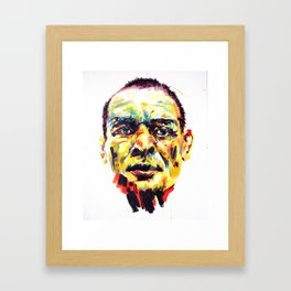 Gueule Framed Art Print