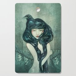 Oracle of the sodden raven Cutting Board