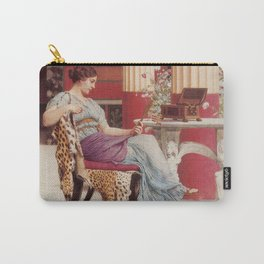 The Jewel Box by John William Godward Carry-All Pouch