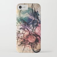 drum iPhone & iPod Cases featuring Drum by Joanne Chen