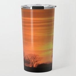 Golden Evening Sunset Travel Mug