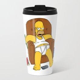 simpson is sofa Travel Mug