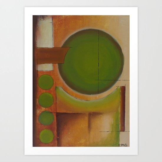 Ol' Sage Art Print