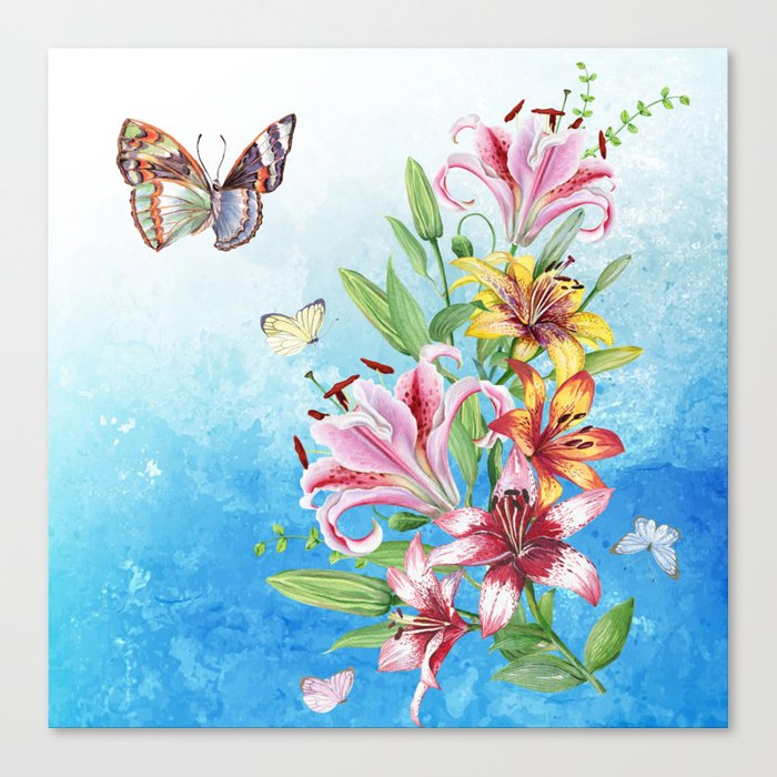 Flowers bouquet #19 Canvas Print