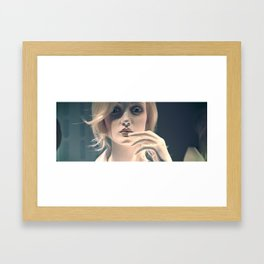 The Miraculous Miss Anderson Framed Art Print