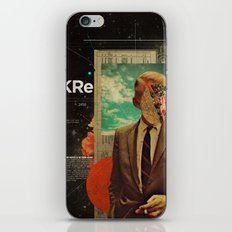 Exhaling My Thoughts iPhone & iPod Skin