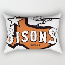 Bisons Ultimate actual team logo official gears Rectangular Pillow