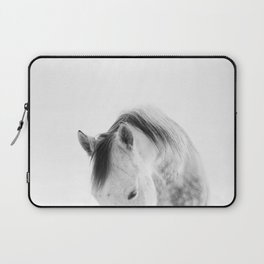 Modern Photography White Horse Laptop Sleeve