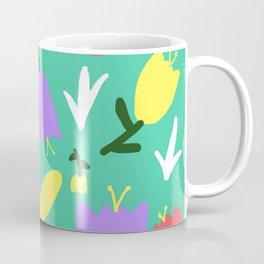 Handmade Bright Spring Pop Art Print Coffee Mug