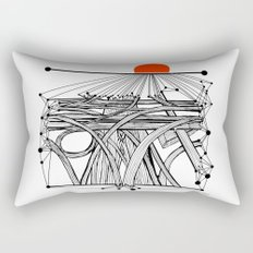 the Roads Rectangular Pillow