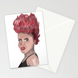 I Am Red Stationery Cards