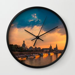 DRESDEN 02 Wall Clock