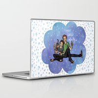 the fault in our stars Laptop & iPad Skins featuring The Fault in Our Stars by Sarah Hopkins