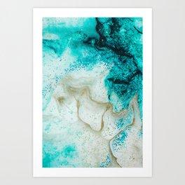 "Tides of Change | ""Sand Bar"" (4) Art Print"