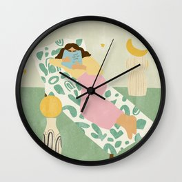 Shoot For The Stars Wall Clock