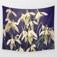 be happy Wall Tapestries featuring Happy by Truly Juel