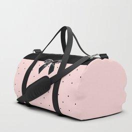Black Tie Affair: Pink Duffle Bag