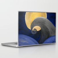 nightmare Laptop & iPad Skins featuring Nightmare by Shelly Lukas Art