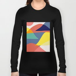 Color mountains Long Sleeve T-shirt