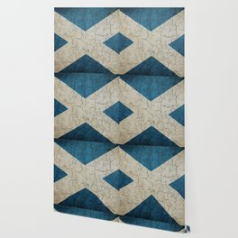 Vintage Scotland flag Wallpaper