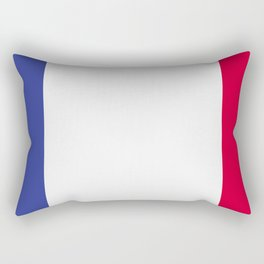 France flag emblem Rectangular Pillow