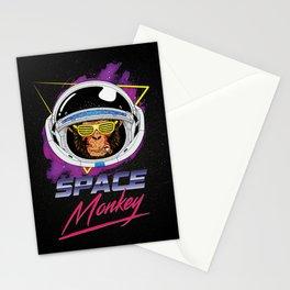 Space Monkey 1980s Stationery Cards