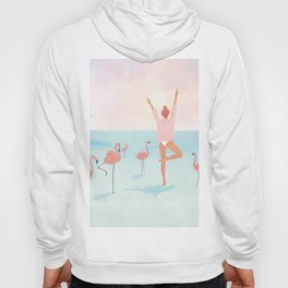Big Flamingo Hoody