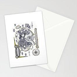 Neverland Illustration  Stationery Cards