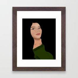 Yisel Framed Art Print