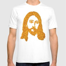 Cheesus X-LARGE White Mens Fitted Tee