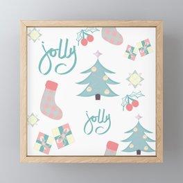 Jolly tree Framed Mini Art Print