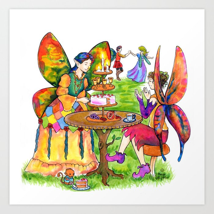 Fairy Party Art Print