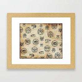 Lemegeton Framed Art Print