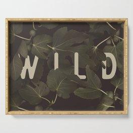 Wild I Serving Tray