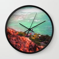 lighthouse Wall Clocks featuring Lighthouse by Kakel-photography