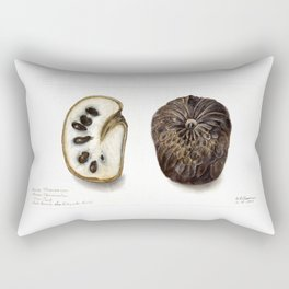 Cherimoyas (Annona cherimola) Rectangular Pillow